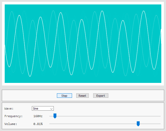 Simple Synthesizer with Web Audio API